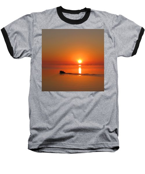 The Fish Are Waiting Baseball T-Shirt