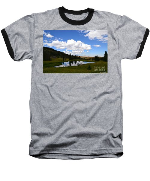 The Fishing Hole Baseball T-Shirt
