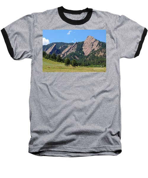 The Flatirons Baseball T-Shirt