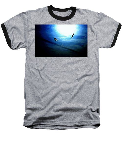 The Flight Baseball T-Shirt by Miroslava Jurcik