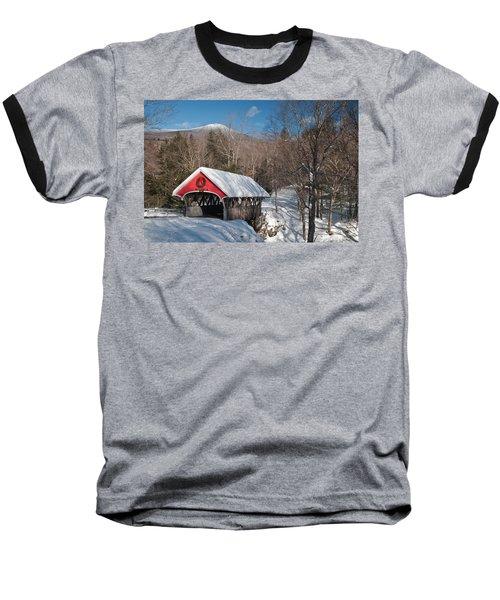 The Flume Bridge In Winter Baseball T-Shirt