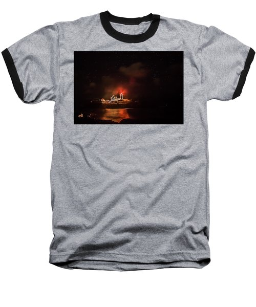 Baseball T-Shirt featuring the photograph The Fog Rolls In by Jeff Folger