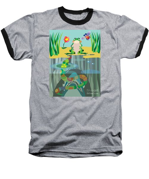 The Food Chain Baseball T-Shirt