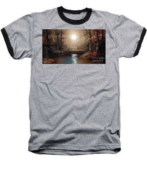 Sunrise Forest  Baseball T-Shirt