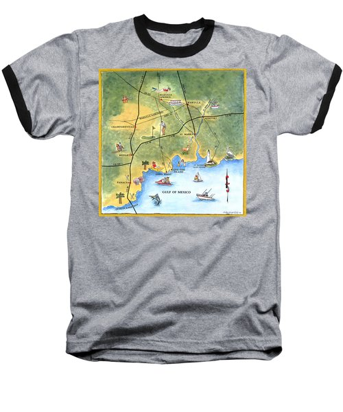 The Forgotten Coast St. Marks Baseball T-Shirt