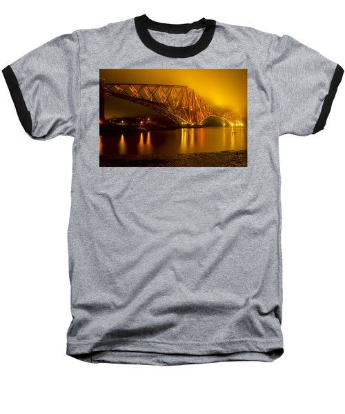 The Forth Bridge From North Queensferry Baseball T-Shirt