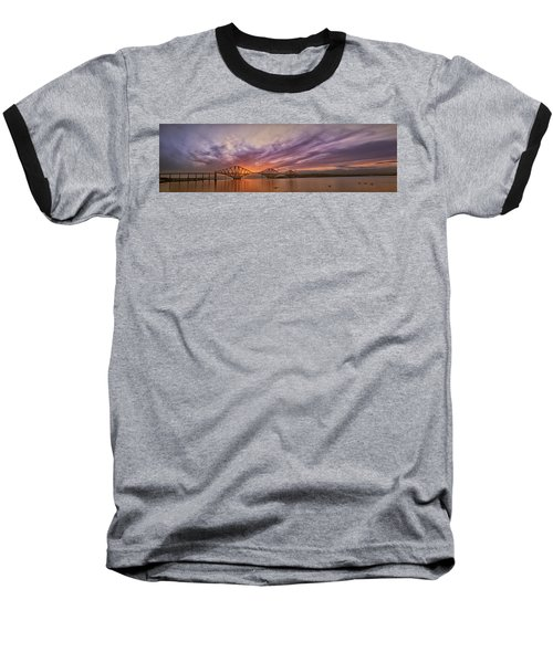 The Forth Rail Bridge Baseball T-Shirt