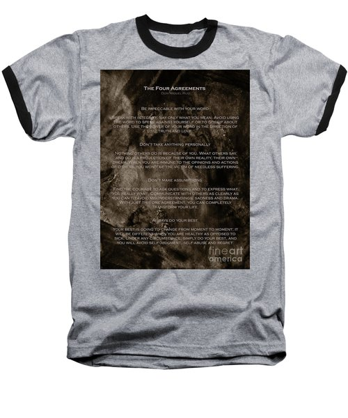 The Four Agreements Baseball T-Shirt