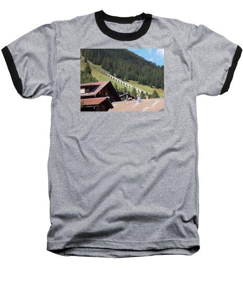 The Funicular In Murren Baseball T-Shirt