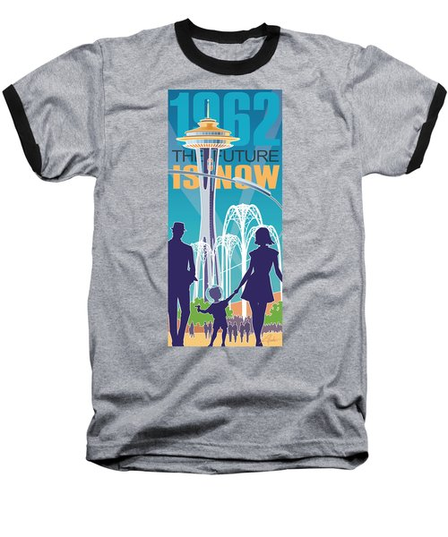 The Future Is Now - Daytime Baseball T-Shirt