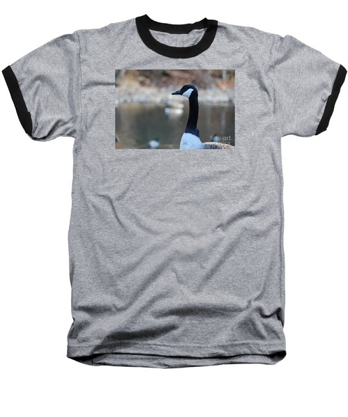 Baseball T-Shirt featuring the photograph The Gander by David Jackson