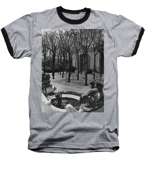 The Garden Of A Home In Meridian Hill Baseball T-Shirt