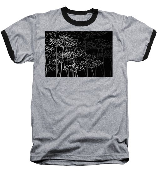 The Garden Of Your Mind Bw Baseball T-Shirt
