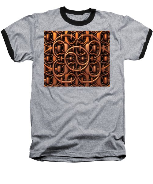 Baseball T-Shirt featuring the digital art The Gate by Lyle Hatch