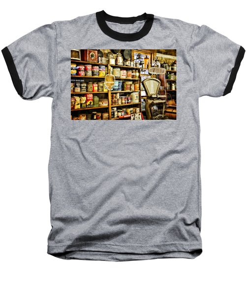 Baseball T-Shirt featuring the photograph The General Store by Lana Trussell