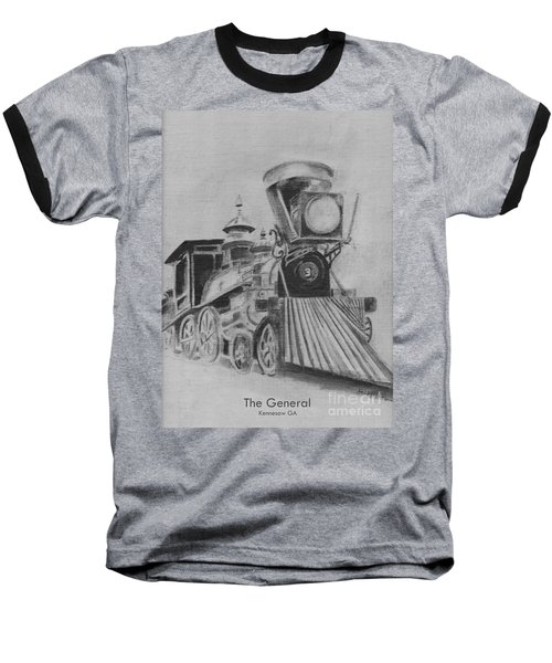 The General - Train - Big Shanty Kennesaw Ga Baseball T-Shirt