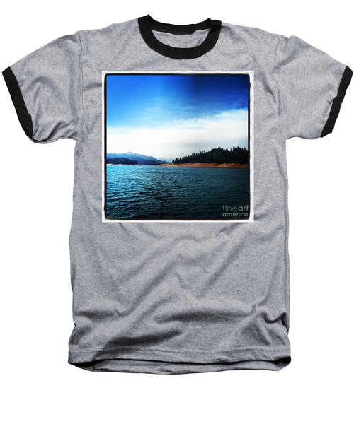 Baseball T-Shirt featuring the photograph The Getaway by Luther Fine Art