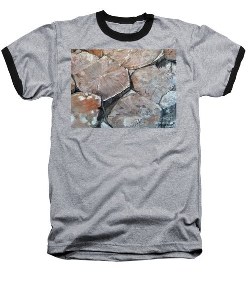 The Giant's Causeway Baseball T-Shirt by Brenda Brown