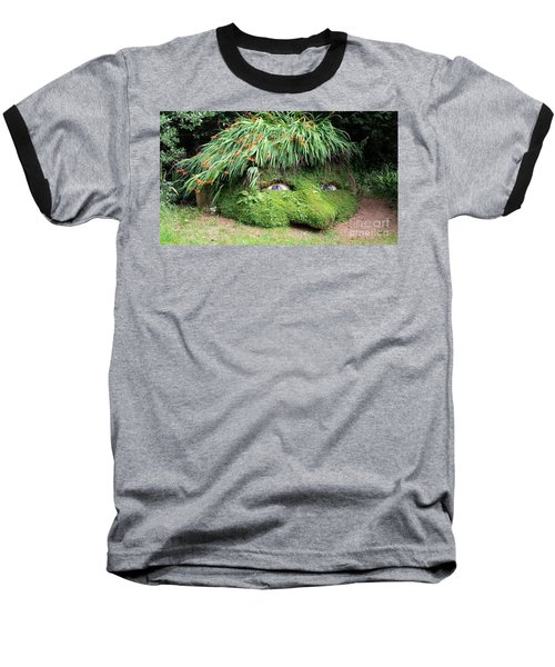 The Giant's Head Heligan Cornwall Baseball T-Shirt