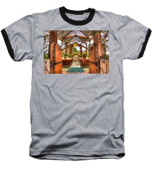 The Glass Church Baseball T-Shirt