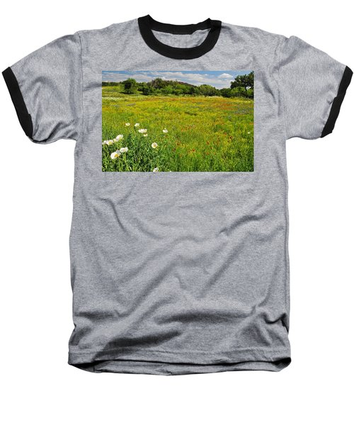 The Glory Of Spring Baseball T-Shirt by Lynn Bauer
