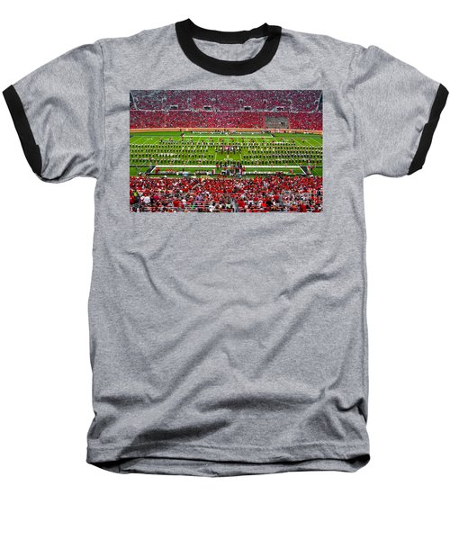 Baseball T-Shirt featuring the photograph The Going Band From Raiderland by Mae Wertz