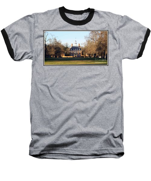 The Governor's Palace Baseball T-Shirt