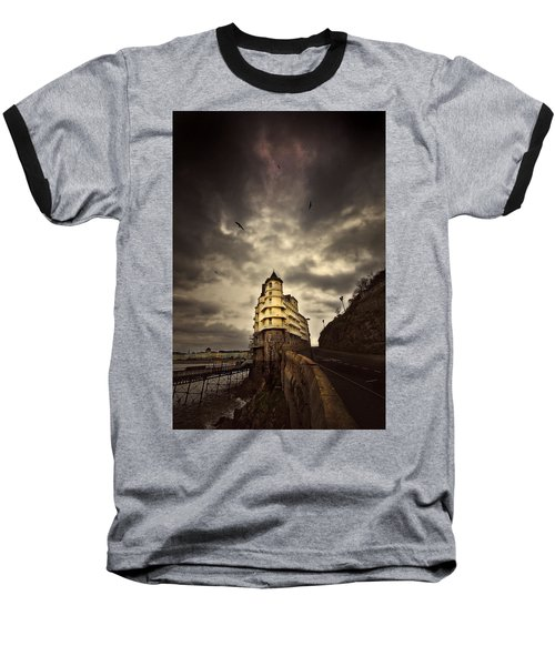 Baseball T-Shirt featuring the photograph The Grand by Meirion Matthias