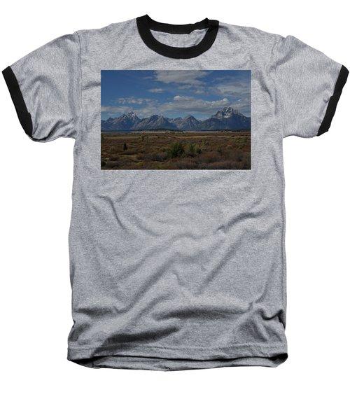 The Grand Tetons Baseball T-Shirt
