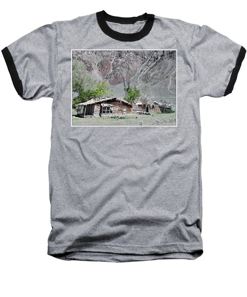 The Grass Is Greener When It's Growing On The Roof Baseball T-Shirt