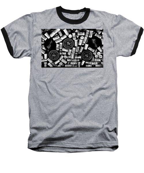 The Great One - Wayne Gretzky Estate Wines Baseball T-Shirt by Andrea Kollo