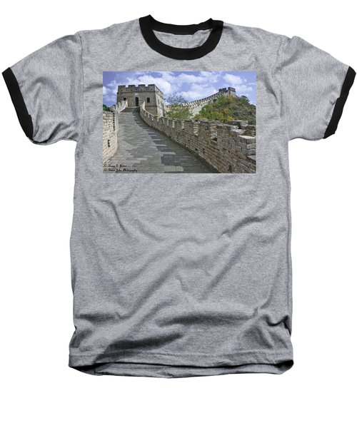 The Great Wall Of China At Mutianyu 1 Baseball T-Shirt