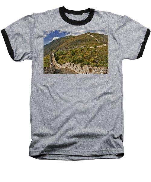 The Great Wall Of China At Mutianyu 2 Baseball T-Shirt