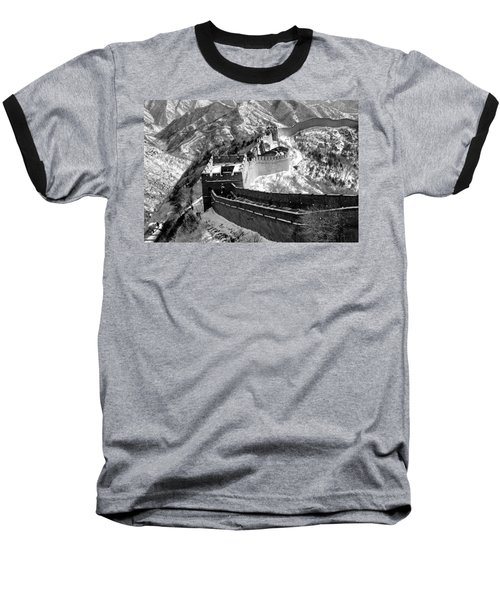 The Great Wall Of China Baseball T-Shirt