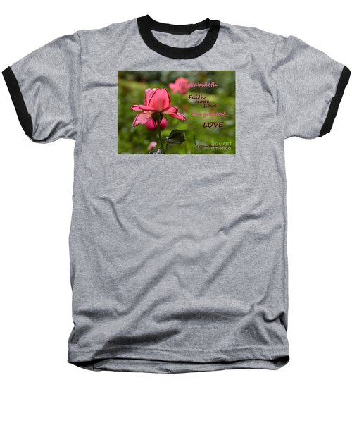 Baseball T-Shirt featuring the photograph The Greatest Love by Larry Bishop