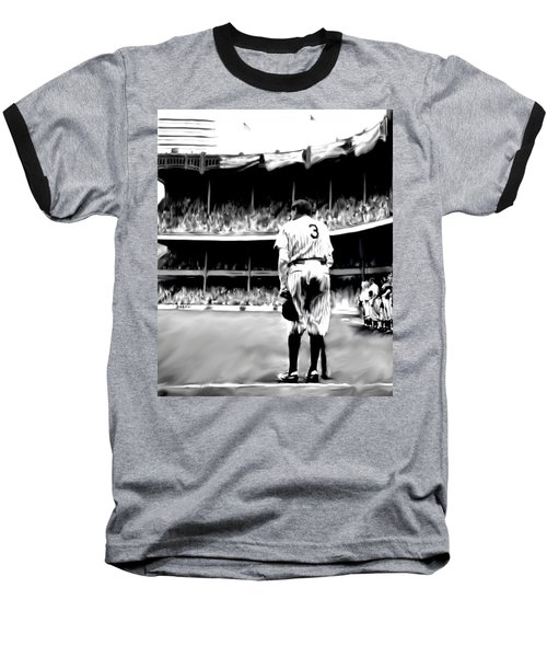 The Greatest Of All  Babe Ruth Baseball T-Shirt by Iconic Images Art Gallery David Pucciarelli