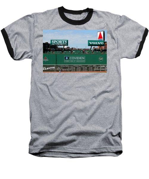 The Green Monster 99 Baseball T-Shirt by Tom Prendergast