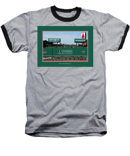 The Green Monster Fenway Park Baseball T-Shirt