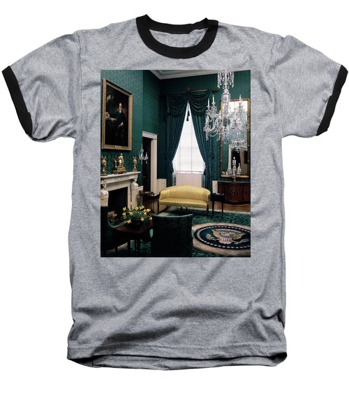 The Green Room In The White House Baseball T-Shirt