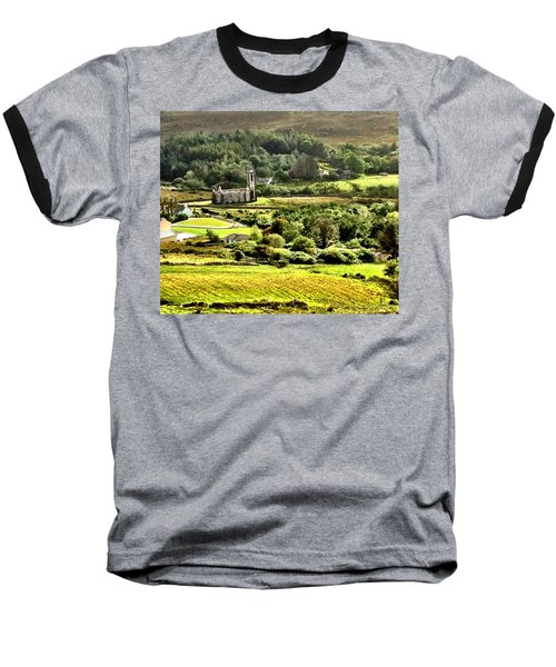 Baseball T-Shirt featuring the photograph The Green Valley Of Poisoned Glen by Charlie and Norma Brock