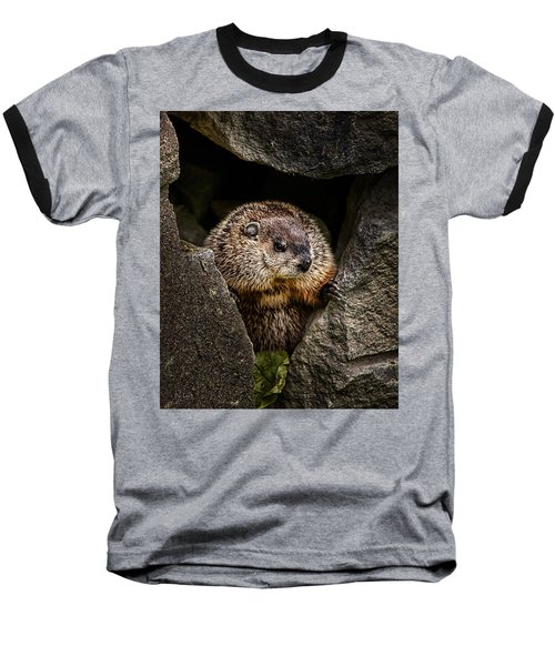 The Groundhog Baseball T-Shirt