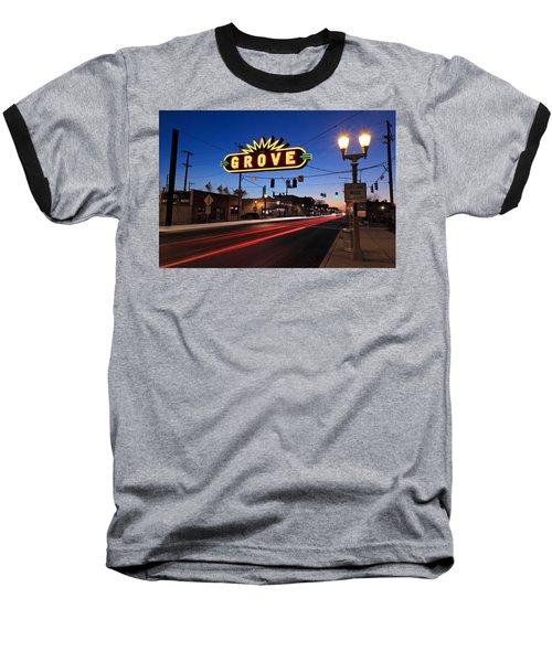 The Grove In Twilight Baseball T-Shirt