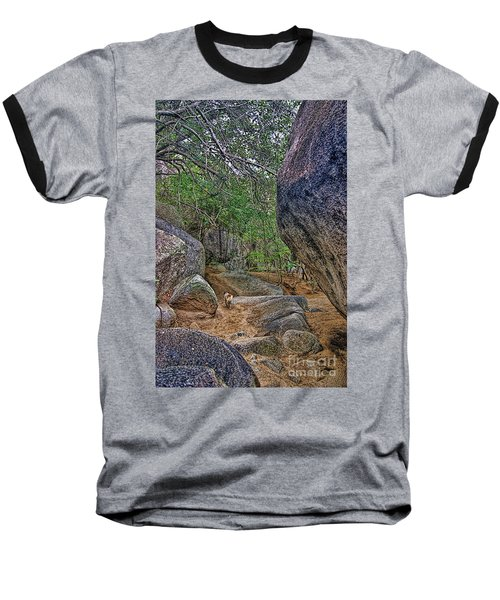 Baseball T-Shirt featuring the photograph The Guide by Olga Hamilton