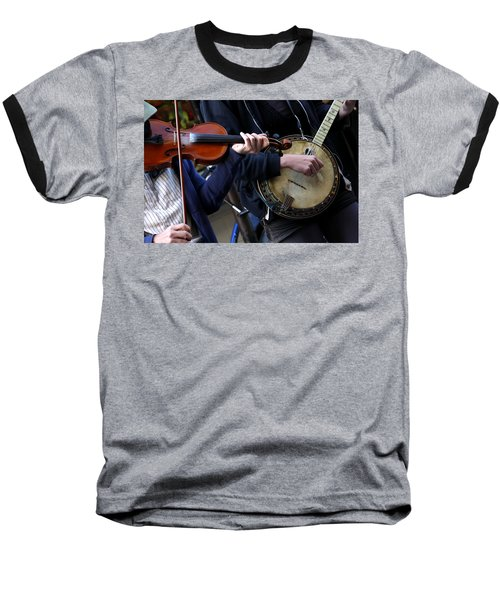 The Hands Of Jazz Baseball T-Shirt
