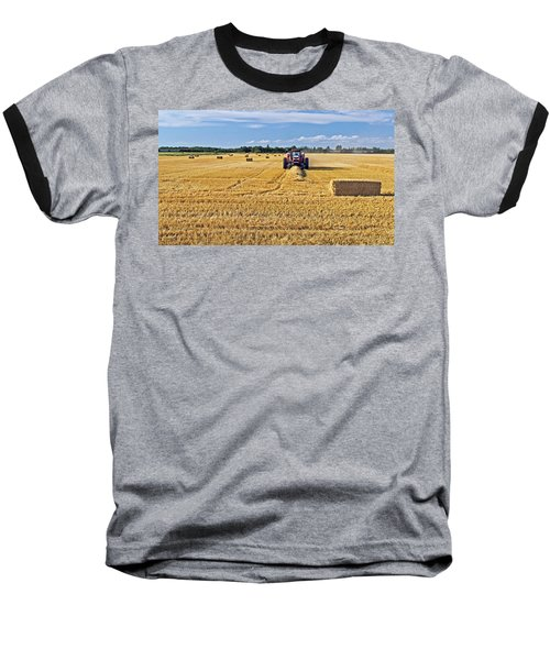 The Harvest Baseball T-Shirt by Keith Armstrong
