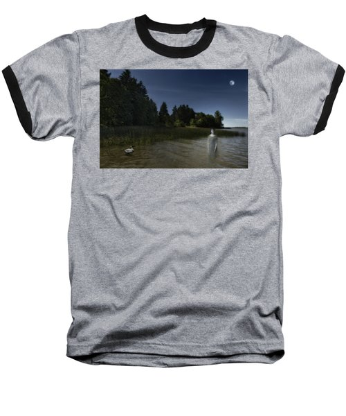 Baseball T-Shirt featuring the photograph The Haunting by Belinda Greb