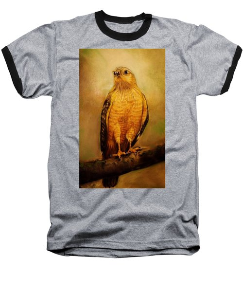 The Hawk Baseball T-Shirt by Jean Cormier