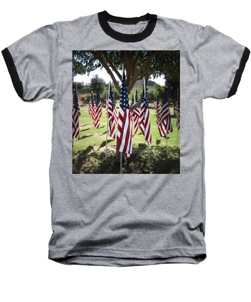 The Healing Field Baseball T-Shirt