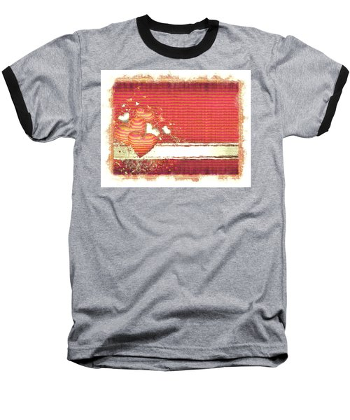 Baseball T-Shirt featuring the digital art The Heart Knows by Liane Wright