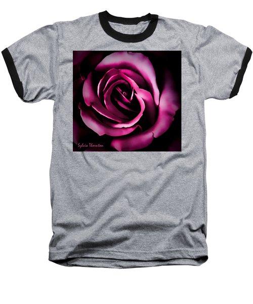The Heart Of A Rose Baseball T-Shirt